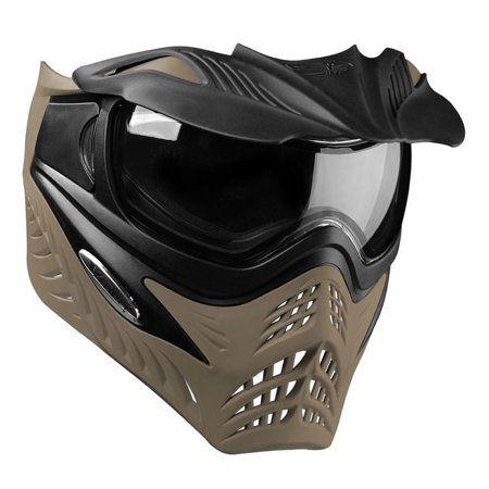V Force Grill Paintball Mask Goggle Sf Jackal Black On Taupe Walmart Com Paintball Mask Paintball Goggles