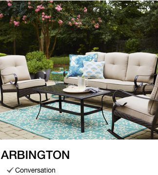 Shop Outdoor Patio Furniture Collections With Lowe S With Images