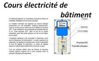 Cours Electricite De Batiment Pdf