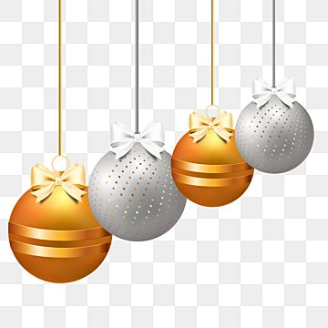 Gold And Silver Christmas Balls Christmas Balls Christmas Ball Christmas Ball Clip Art Png Transparent Clipart Image And Psd File For Free Download Silver Christmas Merry Christmas Vector Christmas Gift Background