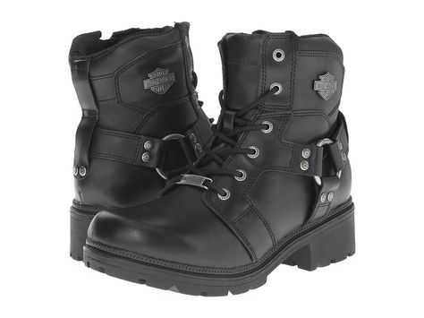 d32682b0f863 Harley-Davidson Jocelyn Women s Lace-up Boots Black