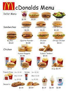 Unterstutzt Von Ihnen Fast Food Arbeitsblatt 1 Arbeitsblatt Fast Food Ih Math Worksheets Math Printables Money Math Worksheets
