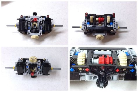 Planetary gearbox with instructions: A LEGO® creation by Sheepo's ...