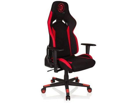 Gaming Stuhl Burostuhl Gamebreaker Rc 09 Stoff Schwarz Rot Hjh Off Gaming Chair Decor Chair