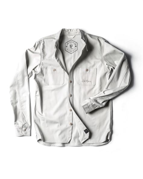 Concept #3 - LP Button-Down SAMPLE - MED / Stone
