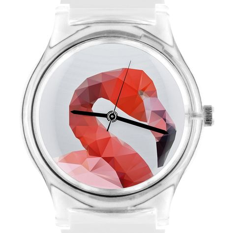 Geometric Flamingo Watch Unisex