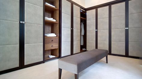 Walk in robe »« Granville Road - St George's Hill, UK Project, Hill House Interior