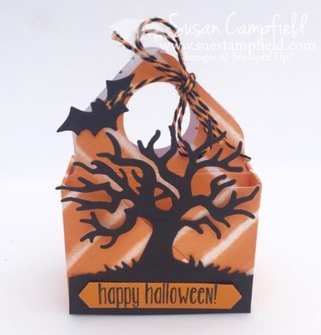 Easy And Adorable Treat Totes with the Envelope Punch Board! - Suestampfield