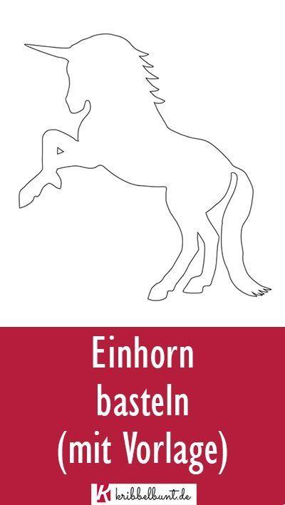 Einhorn Vorlage Einhorn Schablone Als Pdf Schultute Basteln Vorlage Bastelvorlagen Zum Ausdrucken Schablonen Zum Ausdrucken