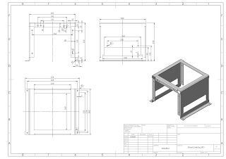 Solidworks Drawing 0015 Sheet Metal Drawing Sheet Metal Fabrication Solidworks
