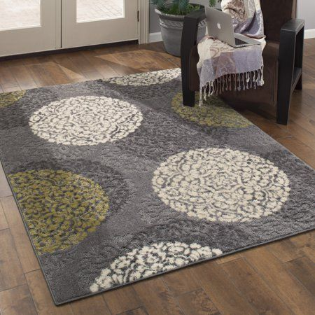 Better Homes Gardens Overlapping Medallions Print Area Rug Or Runner Multi 1 8 X2 10 Walmart Com Transitional Area Rugs Better Homes Gardens Better Homes