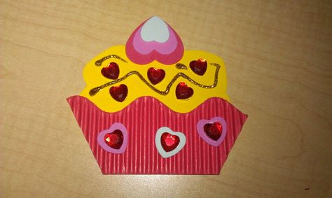 Cupcake st valentin