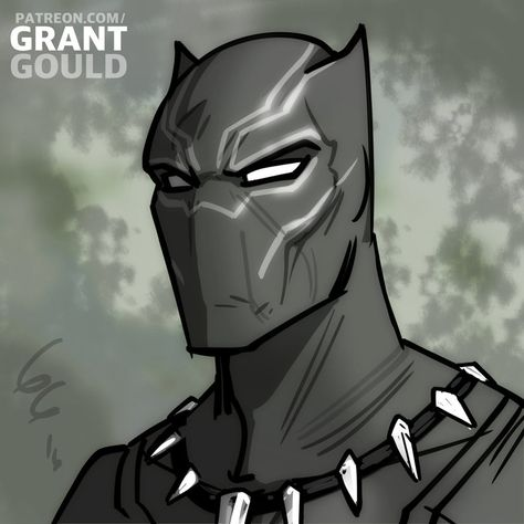 Black Panther by grantgoboom on DeviantArt