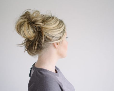 List Of Pinterest Midlength Updo Tutorial Small Things Blog Pictures
