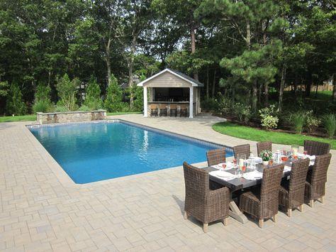 Custom Carpentry Cabanas Pool