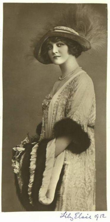 Edwardian actress Lily Elsie