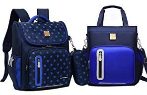 e7399769d34f JiaYou Girl Boy Cute Lunch Bag Purse/Pencil Bag School Backpack 3 ...