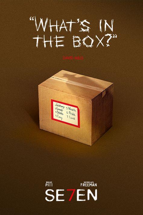 """""""What's in the box?"""" - Se7en"""