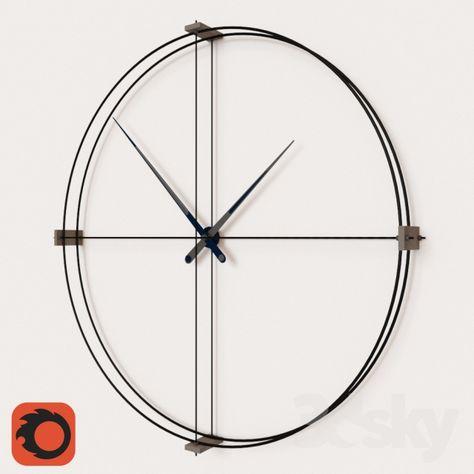 3d models: Watches & Clocks - Bulka Clock
