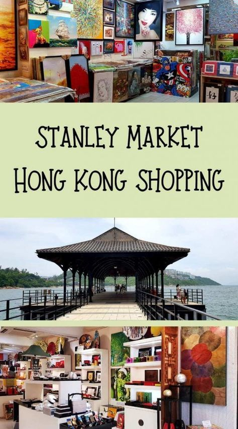 Tour the famous shopping at Stanley Market Hong Kong.