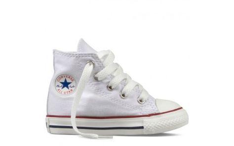 8073691ff2e33 Converse All Star Kids HI Optical White 1-3.5 yr.