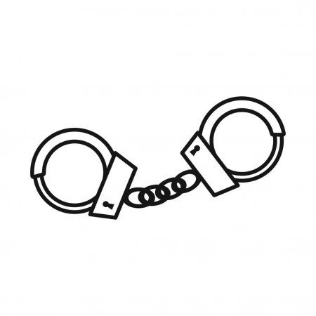 Handcuffs Icon Cartoon Style Handcuffs Clipart Style Icons Cartoon Icons Png And Vector With Transparent Background For Free Download Cartoon Styles Cartoon Icons Handcuffs