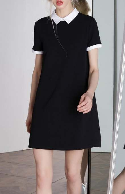 51+ Ideas For Dress Black Long Casual Fashion