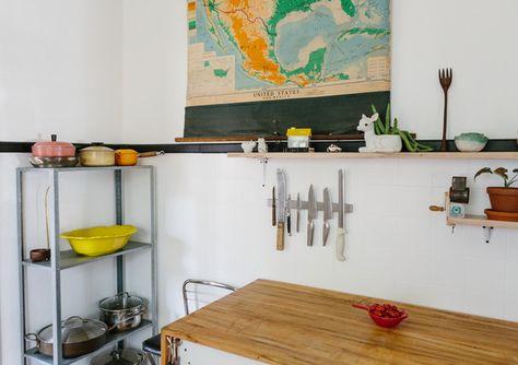 Original Island - The Ultimate Design Couple's 800-Square-Foot Home - Photos