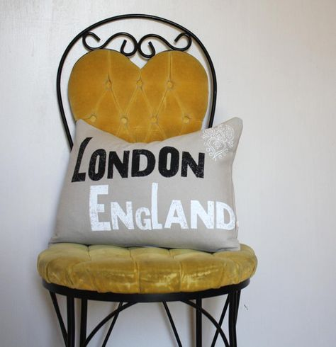 London  12 x 16 Removable Pillow Cover with Insert by NestaHome