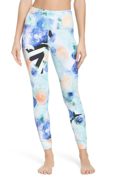 Hardcore Chill Reebok Womens Lux Bold High-Rise Tights