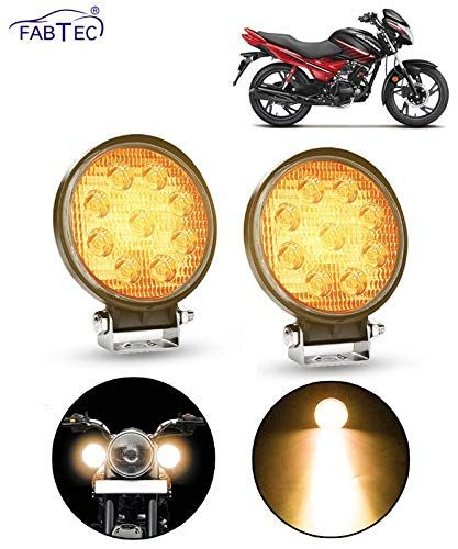 Superior Quality Led Chips Super Bright Ray To Light Up The Forward Dark Road Abs Plastic For Strength And Durability Upgraded Bar Lighting Bike Lights Led