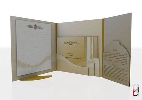 Law School Presentation Folders for Loyola University (Front Open - resume presentation folder
