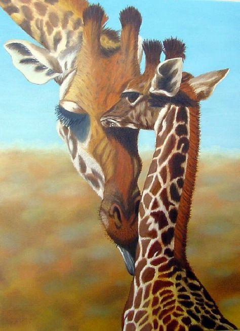 Giraffes are so interesting