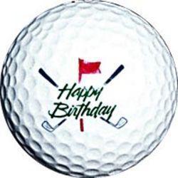 Happy Birthday Golf Ball Happy Birthday Golf Happy Birthday Man Happy Birthday Pictures