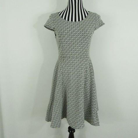 200ff7b8c9 Anthropologie Maeve Black White Dress Size S  Anthropologie  Sundress   Casual
