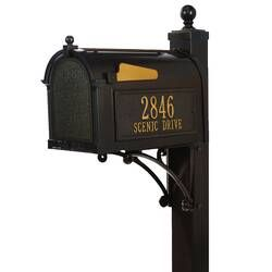Kingston Mailbox With Post Included Reviews Joss Main