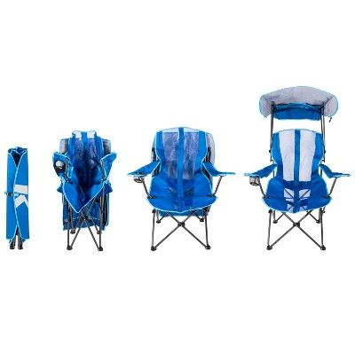 Kelsyus Original Canopy Chair Royal Blue Tailgate Chairs