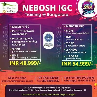 Join Nebosh Igc Course In Mangalore Free 6 Course Mangalore Http Mangalore Themirch Com 448119 Join Nebos Emergency Plan Health And Safety Safety Awareness