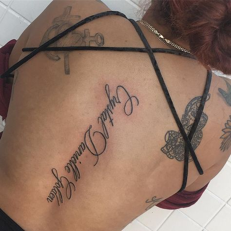 tattooed Crystal Danielle Golden for my...