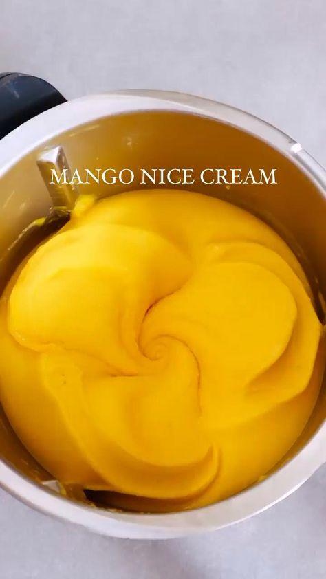 Mango Smoothie Nice Cream