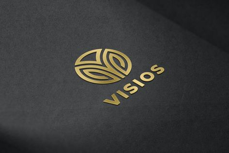 Gold Metallic Logo Mockup by artimasa_studio on Envato Elements