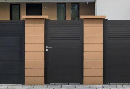 Portillon Aluminium Dominica Roy Portones Puertas De Madera Puertas Y Casas