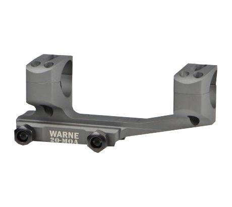 Warne 20 Moa Extended Skeletonized Msr Mount 34mm Tactical Gray Warne Scope Mounts Tactical Mounting