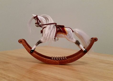 Horse Steeplecase Miniature Dollhouse Picture