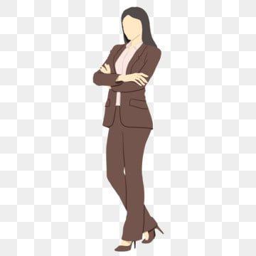 Boss Kostyum Devushka Illyustraciya Kostyum Devushka Boss Png I Psd Fajl Png Dlya Besplatnoj Zagruzki Girls Illustration Black And White Cartoon Girl Cartoon