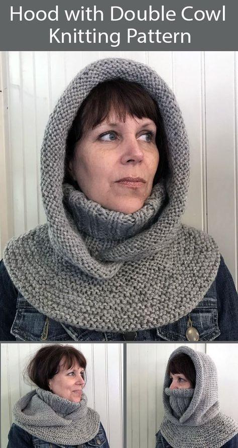 Knitting Paterns, Diy Crochet And Knitting, Loom Knitting, Knitting Stitches, Knit Patterns, Knitting Projects, Hand Knitting, Crochet Hats, Scarf Crochet