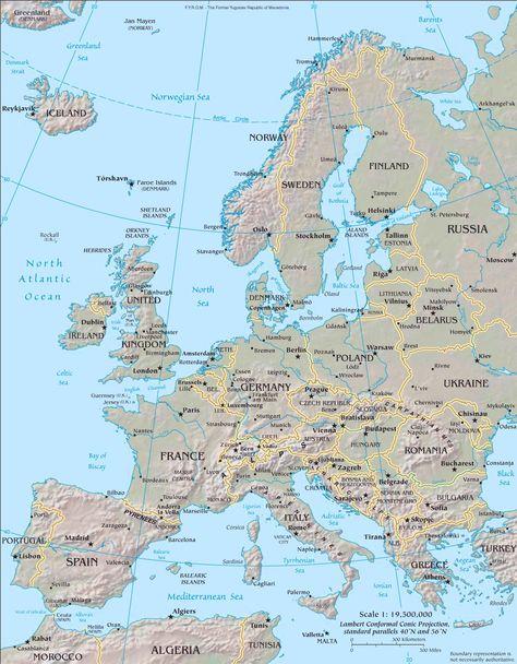 Dr Bert Enjoys Traveling To Europe Frankreich Karte