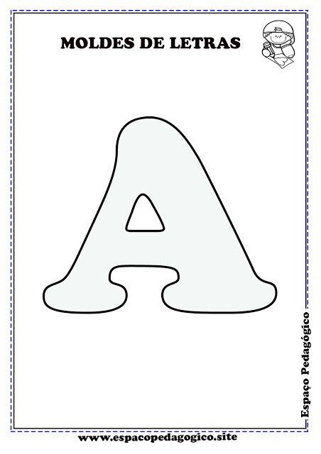 Moldes De Letras Do Alfabeto Para Imprimir Lindo Moldes De