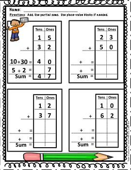 Envisions Topic 4 Fluently Add Within 100 Second Grade Envision Math Second Grade 2nd Grade Worksheets