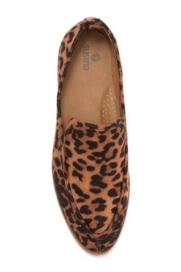 SUSINA | Kellen Leopard Print Loafer